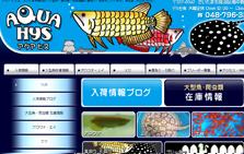 大型魚・熱帯魚・アクア用品の買取・販売「アクア ヒス」さいたま